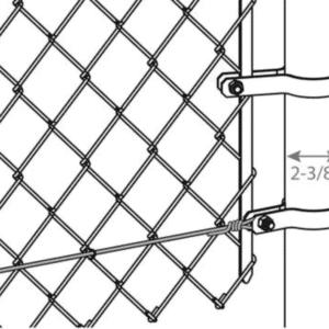 chain link bottom wire