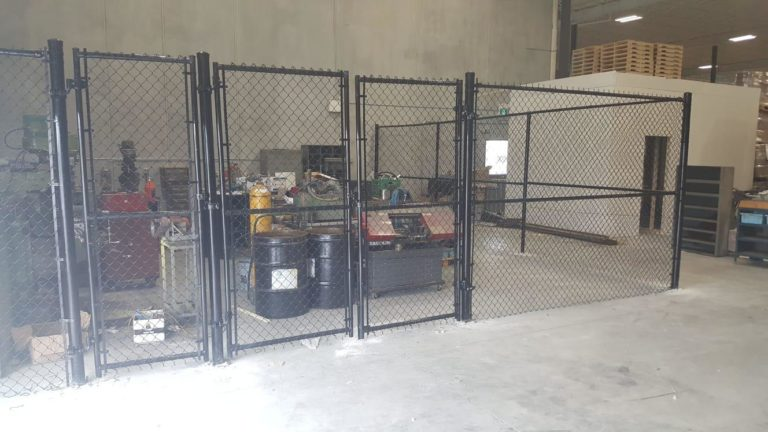 chain link fence panels canada